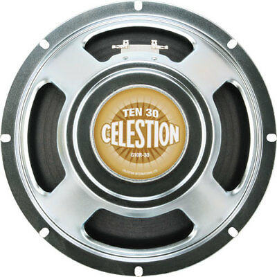 "Celestion Ten 30 10"" 30 Watt Guitar Speaker 16 Ohm"