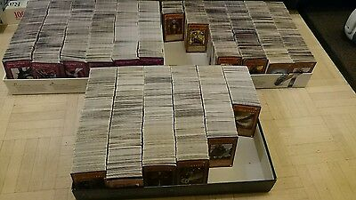 Mixed lot of 100 Yugioh Cards - 95x Commons and 5x Rares/Holos