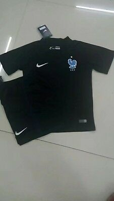 Ensemble Maillot + Short Enfant Kids Equipe De France Nike 2017/2018