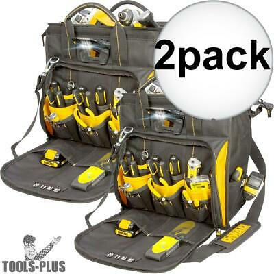 DeWalt DGL573 2pk Lighted Technicians Tool bag New