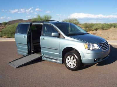 2010 Chrysler Town & Country Touring Wheelchair Handicap Mobility Van 2010 Chrysler Town & Country Touring Wheelchair Handicap Mobility Van Low Miles