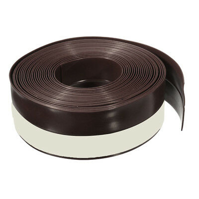 SS New 5M Self-adhesive Draught Excluder Strip Window Door Seal Weather Tape Rub
