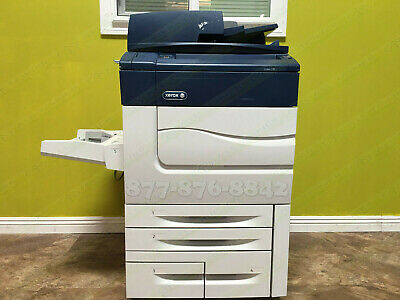Xerox Color C70 Digital Press Production Printer Copier Scanner 75PPM 300K C60