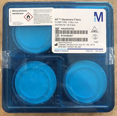 emd  mf- hawp04700 mixed cellulose ester filter membrane, hydrophilic, 0.45µm