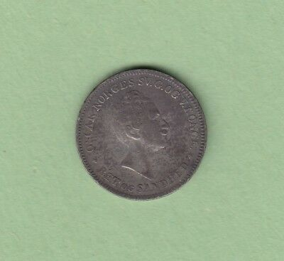 1855 Norway 24 Skilling Silver Coin - Oscar I - Scarce, 204,000 Minted