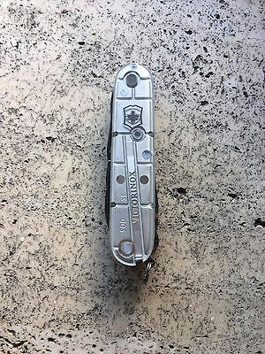 Swiss Army Knife Victorinox Climber SILVERTECH couteau suisse gris 1.3703.T7