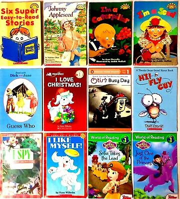 Lot of 22 Childrens ACCELERATED 1st Grade Level Readers First Early