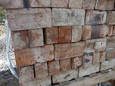 Reclaimed red bricks - Yorkshire - large quantity available