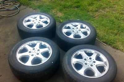 "Mercedes E Class 16"" Mags wheels and Tyres"