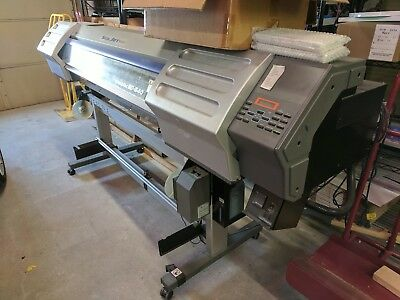 Used Roland SolJet II SC-540 PRINT CUT with Ink Cartridges. Needs New Heads