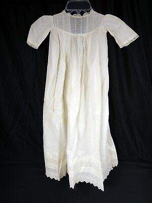 Vintage Baby Baptism Gown Dress