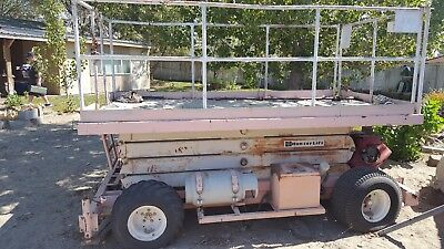 Have a manlift for sale everything works on is in good working order