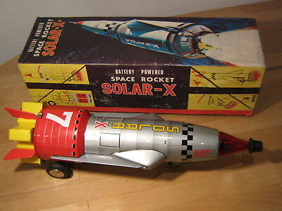 "Vintage Space Rocket "" Solar-x- "" Nomura, Japan, 60´s"