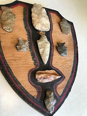 Native American indian arrowheads,blades,aritfacts,collectibles(8 total)FreeShip