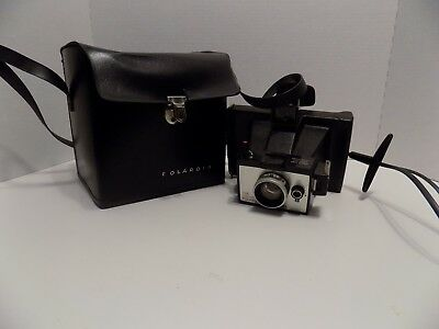 Vintage Colorpack Polaroid Land Camera with case