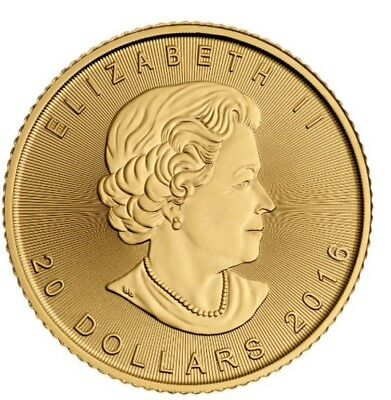 1/2 Ounce Canadian Gold Coin .999 Pure Gold