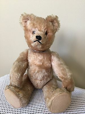 """Antiques Early Pre-1940 German Schuco 12"""" Yes/no Teddy Bear"""