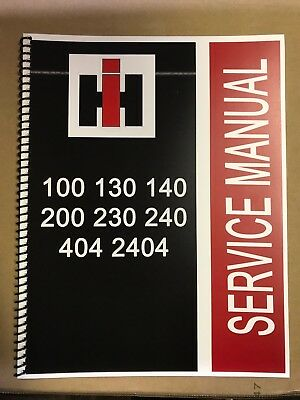 240 International Harvester Tractor Technical Service Shop Repair Manual Farmall