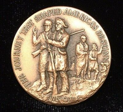 1974 Lewis & Clark Medal by Medallic Art Company