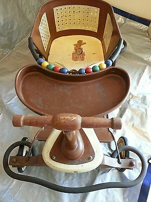 Antique 1940's Pal Baby Walker, VG Condition!