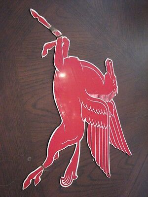 Metal Pegasus Porcelin Sign 15 Inches Wide Just Stunning
