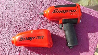"""Snap-On *near Mint!* 1/2"""" Drive Mg725 """"red"""" Super Duty Impact Wrench!"""
