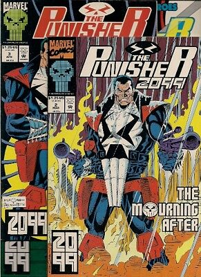 23 PUNISHER 2099 comics:  #2-21, 23-24, 26, many high grade, other PUN available