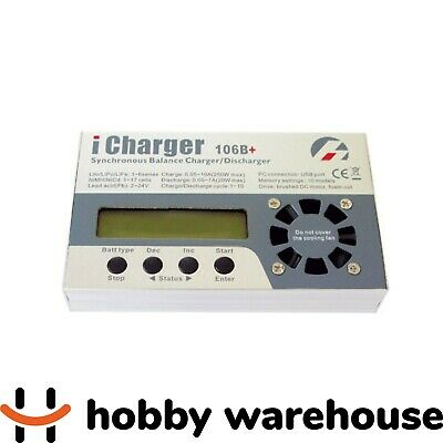 iCharger 106B+ 10A Synchronous Balance Charger / Discharger