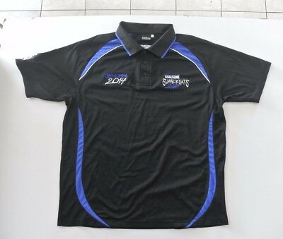 Summernats 2014 Size 2Xl Official Merchandise Polo Shirt Blk/blue Ex Cond