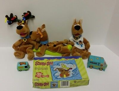 Scooby-Doo Memoriabilia Bean bags digital clock puzzle and diecast