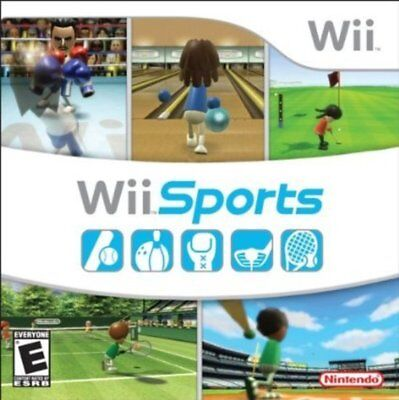 WII SPORTS Nintendo Wii Game PAL + Booklet