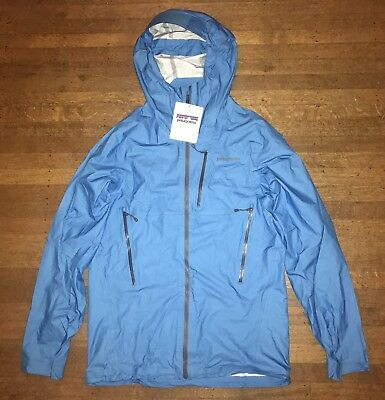 Patagonia Men's M10 Jacket Size Small Electron Blue Brand New NWT