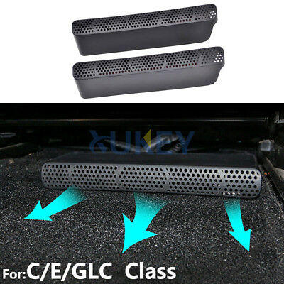 For Benz C E CLC Class W205 W213 Seat Rear AC Heat Floor Air Duct Grill Vent