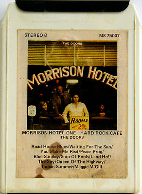 THE DOORS Morrison Hotel  8 TRACK TAPE  CARTRIDGE