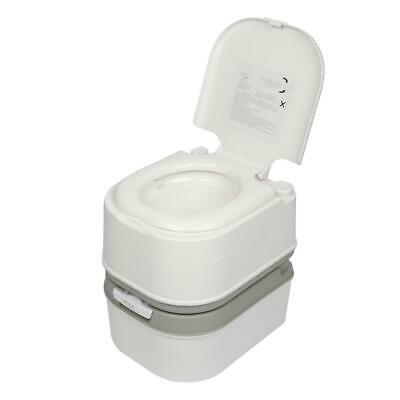 Portable 20L Camping Toilet Flush Potty With Hand Wash Sink Basin Stand Outdoor