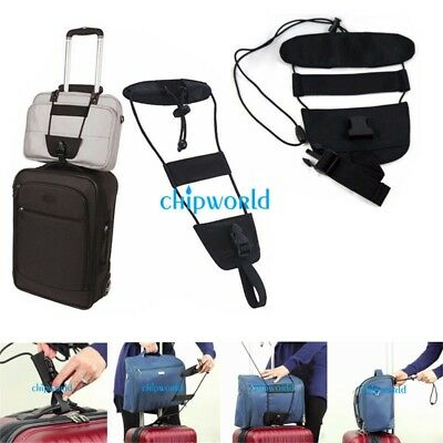 Adjustable Travel Luggage Suitcase Belt Bag Strap Carry On Bungee Packing Belts