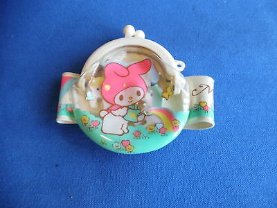 Vintage Sanrio My Melody Purse Bracelet With Erasers Gift