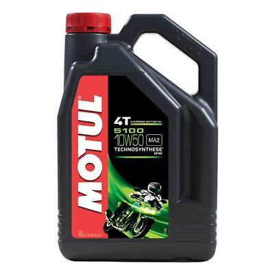MOTUL 5100 10W 50 4 Litre - 4 stroke Engine Oil - TechnoSynthese with Ester