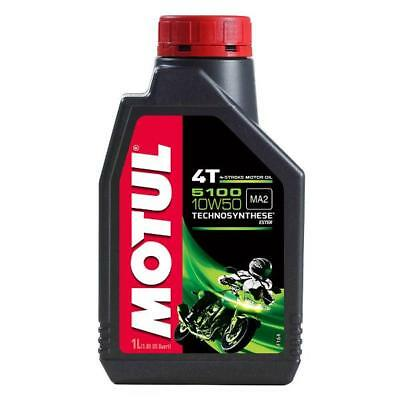 MOTUL 5100 10W 50 1 Litre - 4 stroke Engine Oil - TechnoSynthese with Ester