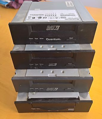 Lot of 4x DAT72 DATA. IN GOOD CONDITION. QUANTUM, DELL, SEAGATE, HP.