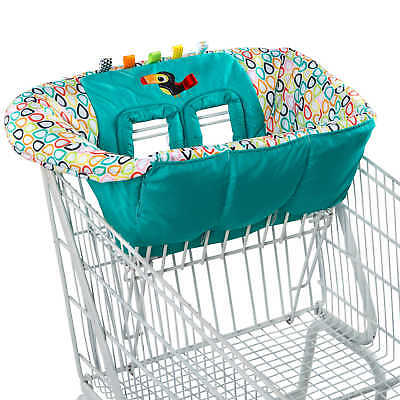 Bright Starts Tag N' Go Tiny Toucan Shopping Cart Cushion Protection Cover NEW