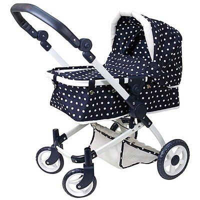 You & Me Deluxe Urban Doll Pram Stroller