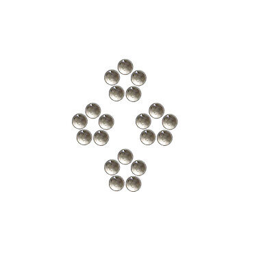 Natural Smokey Quartz 4x4 mm to 6x6 mm Round Shape Faceted Cabochon Gemstones