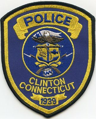 Clinton Connecticut Ct Police Patch