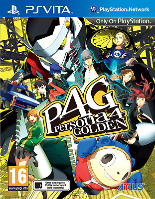 Persona 4 Golden (PS Vita) -BRAND NEW & SEALED UK