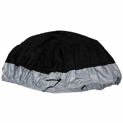 SS L Large Waterproof Outdoor Motorcycle Cruiser Bike Scooter Cover 220*95*110 c