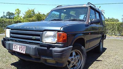 Land Rover Discovery 1996 4x4 diesel 7-seater, reg but sold unreg