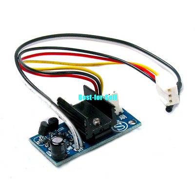 DC 12V 1A PC CPU IC Smart Fan Temperature Control Speed Controller with Sensor