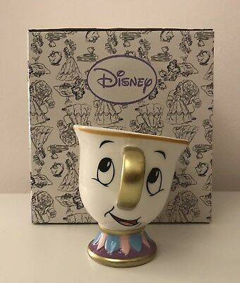 Disney Beauty And The Beast Chip Mug - Sold Out In Primark !! Bnib