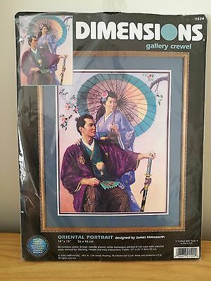 Dimensions Gallery Crewel Kit - Oriental Portrait